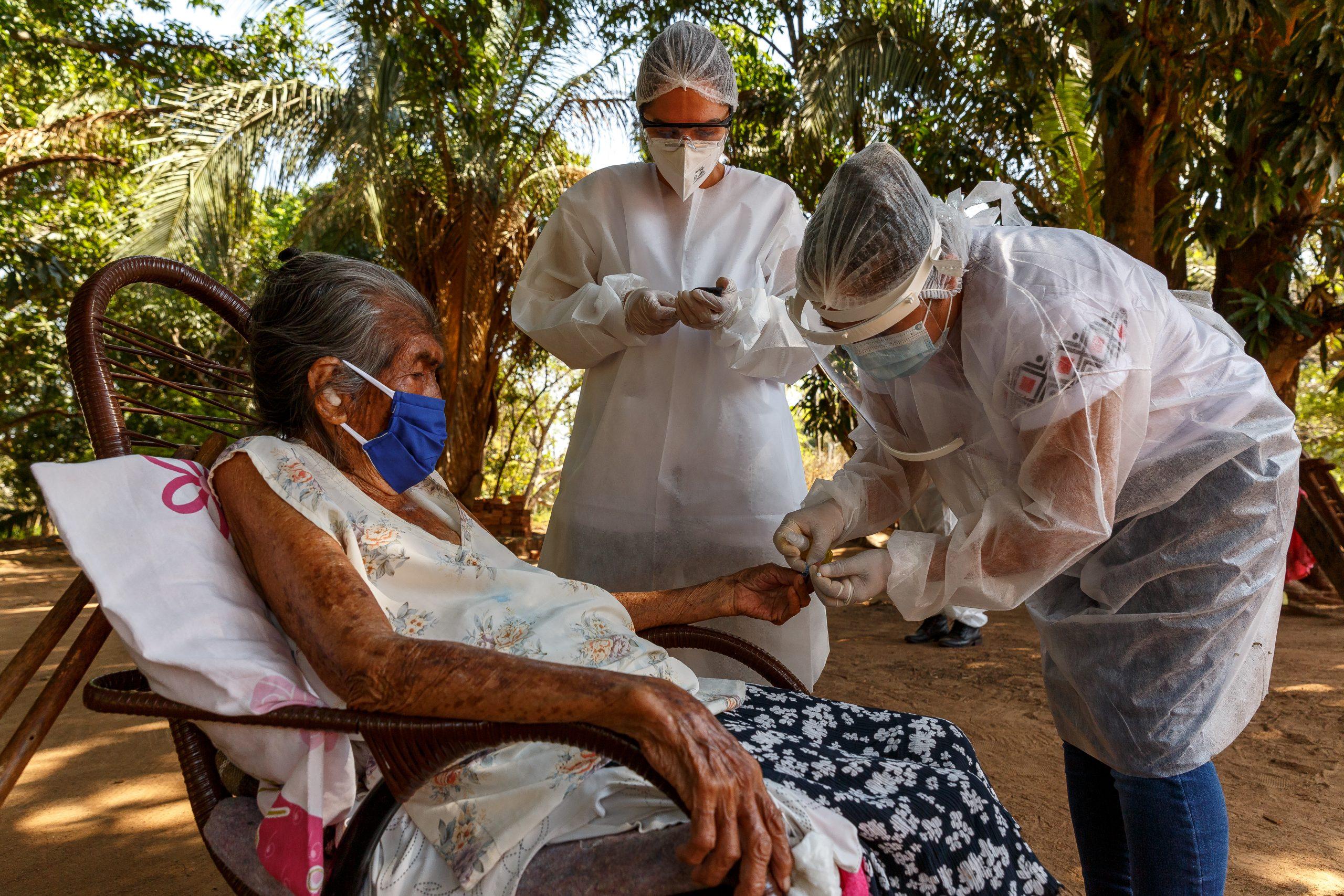 Augustinus Fonden støtter Læger uden Grænsers globale indsats mod covid-19. Her fra indsatsen i Brasilien.